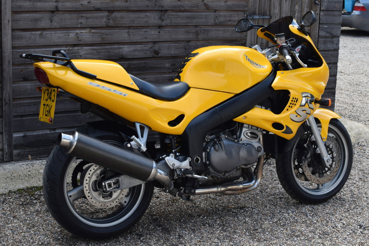 Triumph Sprint RS 955i (20000 miles, MOTd July 2021) 2001 Y  For Sale (picture 9 of 12)