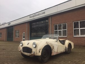 Picture of RESERVED | 1957 Triumph TR3 LHD for restoration SOLD