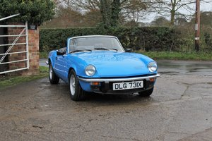 Picture of 1980 Triumph Spitfire 1500, One of the very last Spitfires made For Sale