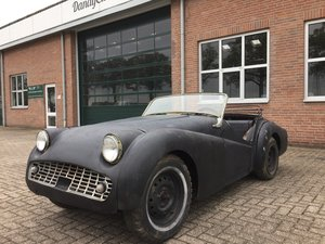 Picture of 1959 Triumph TR3A LHD for restoration For Sale