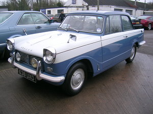 Picture of 1961 Triumph Herald 1200 Saloon Historic Vehicle For Sale