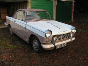Picture of Triumph Herald 948 Coupe 1961 - to be auctioned 26-03-21 For Sale by Auction