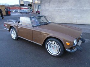 Picture of TRIUMPH TR6 2.5 150 LHD CONVERTIBLE(1974) SOLD