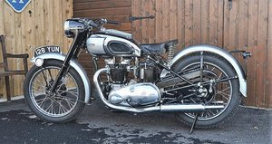 Picture of 1949 TRIUMPH T100 TIGER 500CC TWIN MOTORBIKE For Sale