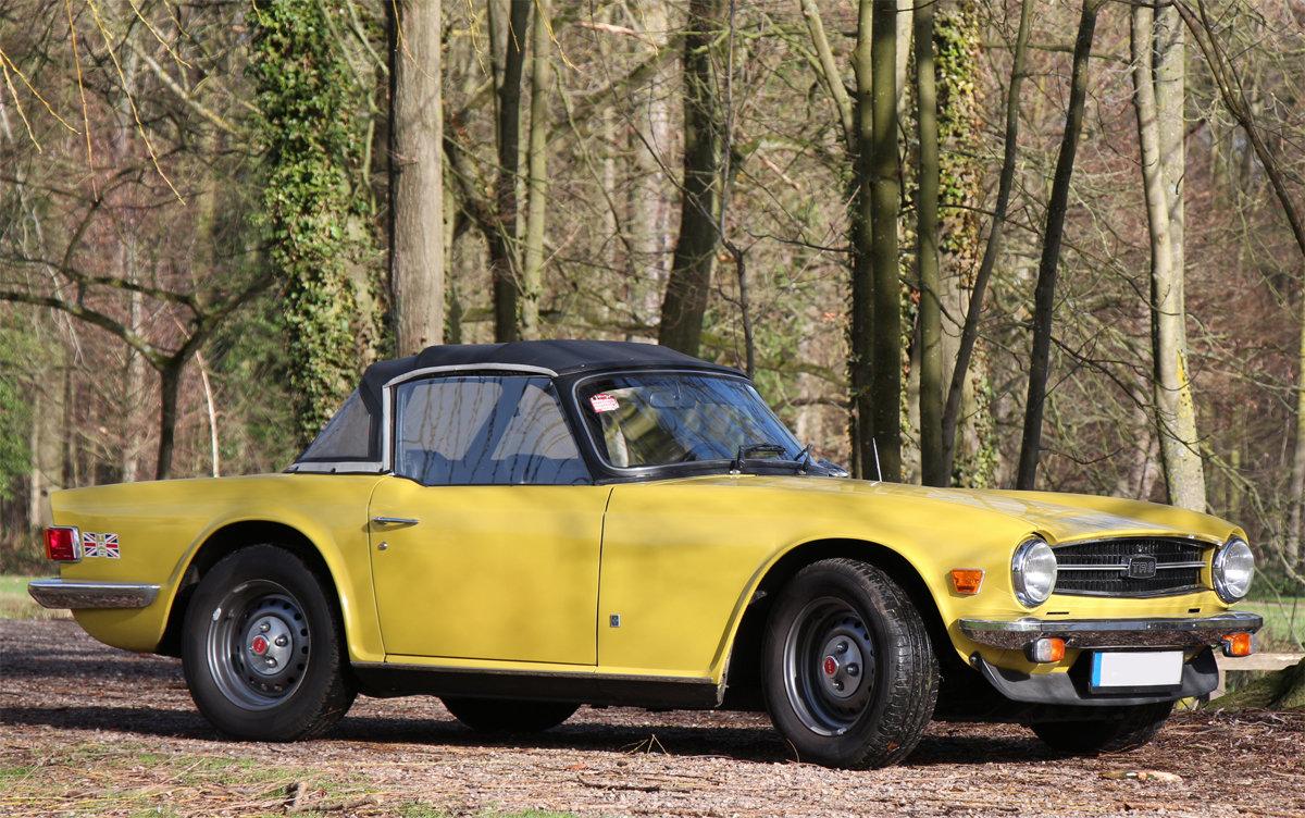 1975 Triumph TR6 in exceptional original condition For Sale (picture 1 of 6)