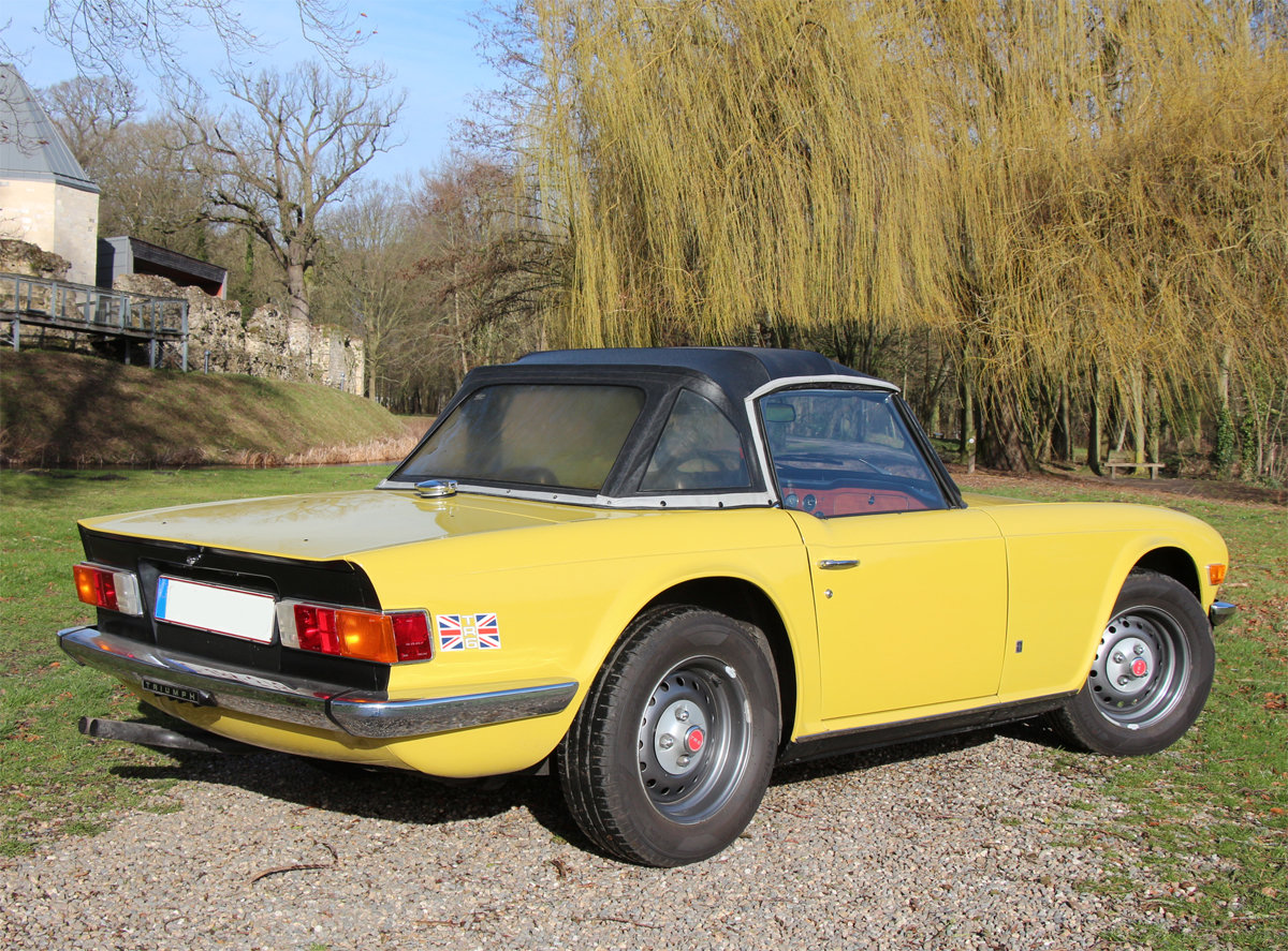 1975 Triumph TR6 in exceptional original condition For Sale (picture 2 of 6)