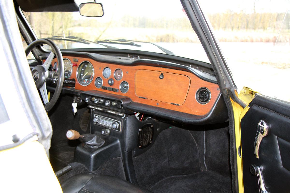 1975 Triumph TR6 in exceptional original condition For Sale (picture 5 of 6)