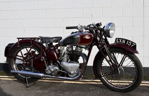 1938 Triumph Speed Twin 500cc - Pre War Classic Motorcycle !