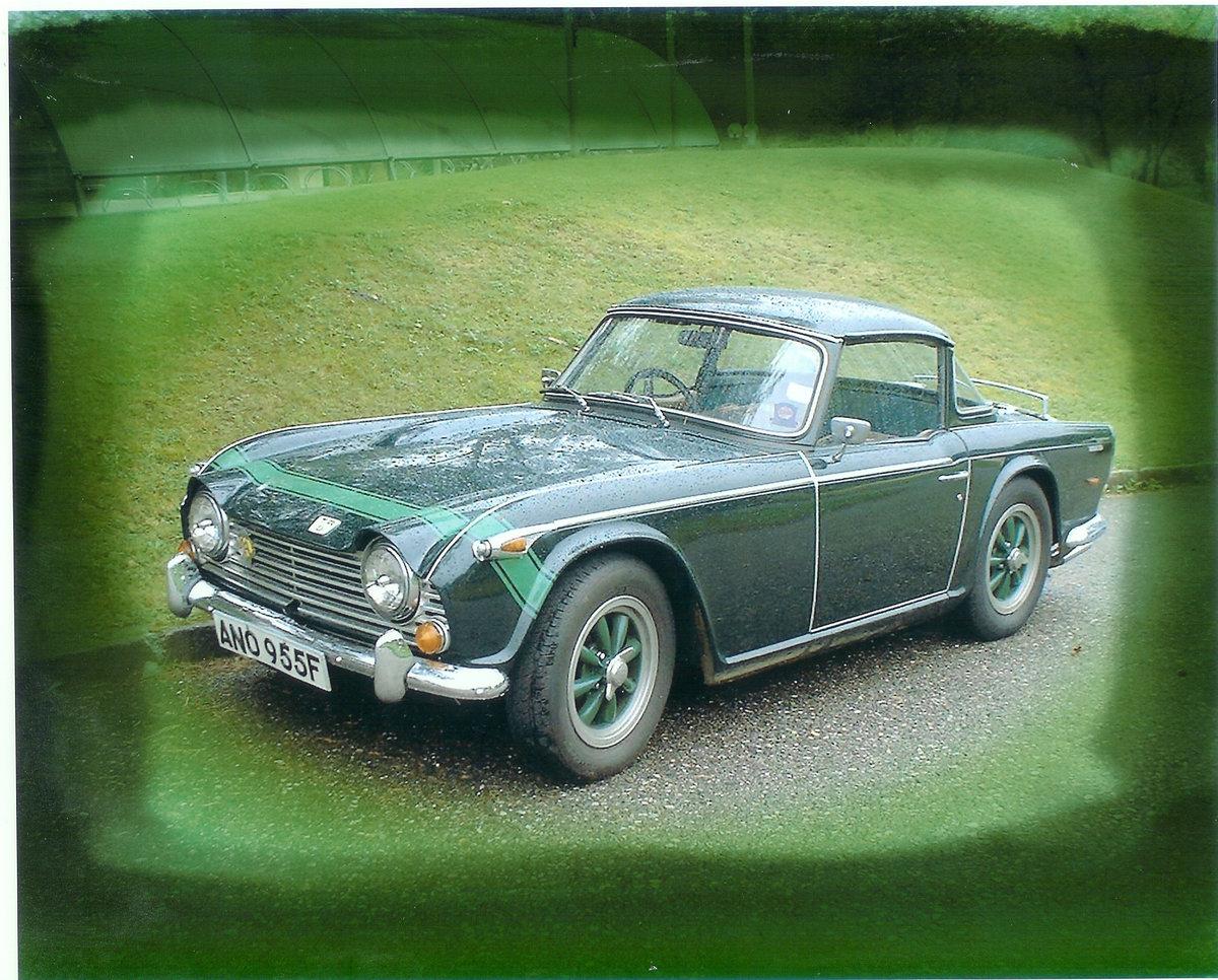 1968 Triumph TR5 PI For Sale (picture 1 of 5)