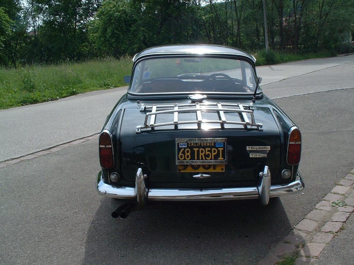 1968 Triumph TR5 PI For Sale (picture 3 of 5)