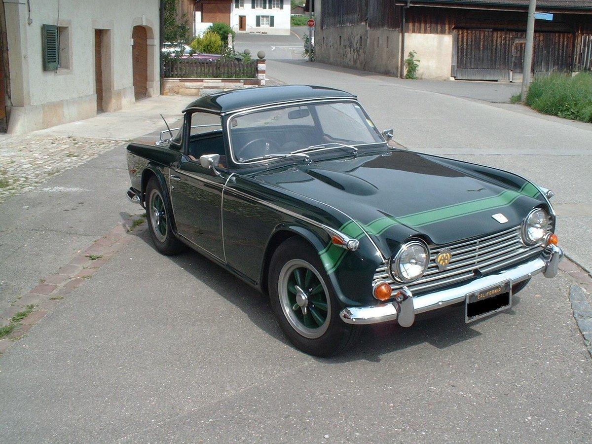 1968 Triumph TR5 PI For Sale (picture 4 of 5)