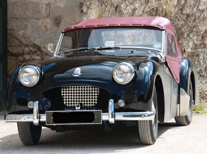 1953 Triumph tr2 sports rhd  For Sale (picture 2 of 6)