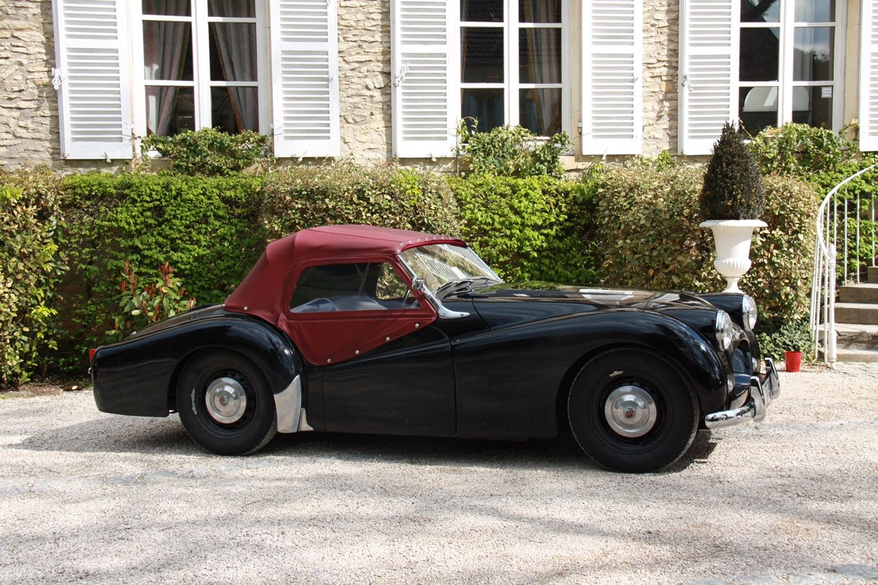 1953 Triumph tr2 sports rhd  For Sale (picture 5 of 6)