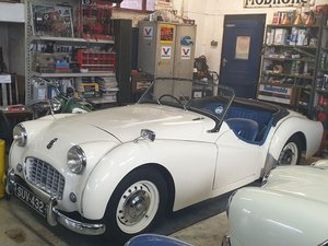 Picture of 1956 Triumph TR3 at ACA 13th and 14th February For Sale by Auction