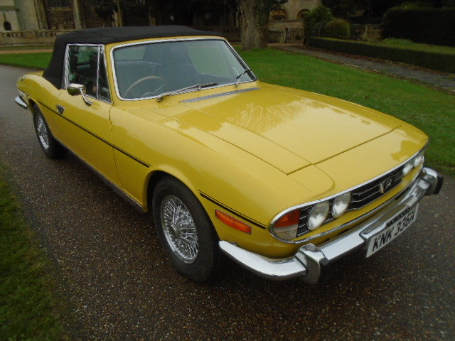 1974 Triumph Stag Auto, new soft top. wire wheels. For Sale (picture 1 of 12)
