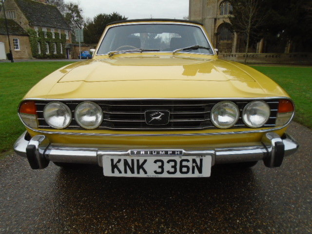 1974 Triumph Stag Auto, new soft top. wire wheels. For Sale (picture 2 of 12)