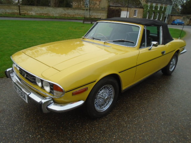 1974 Triumph Stag Auto, new soft top. wire wheels. For Sale (picture 3 of 12)