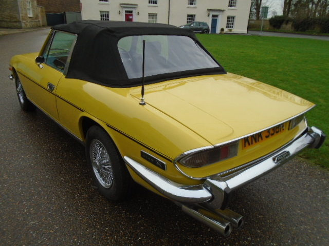 1974 Triumph Stag Auto, new soft top. wire wheels. For Sale (picture 5 of 12)