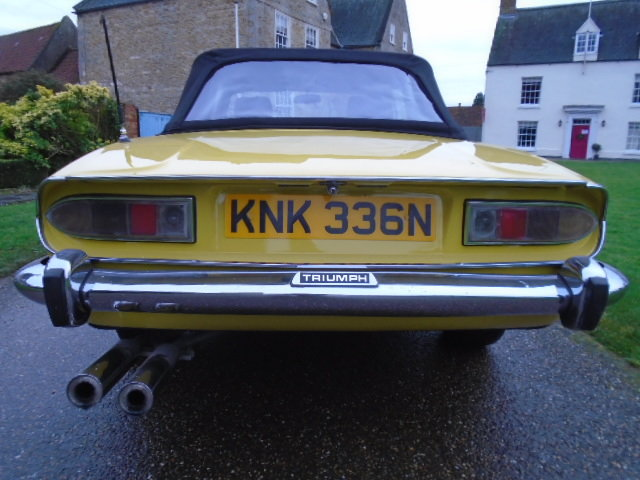 1974 Triumph Stag Auto, new soft top. wire wheels. For Sale (picture 6 of 12)