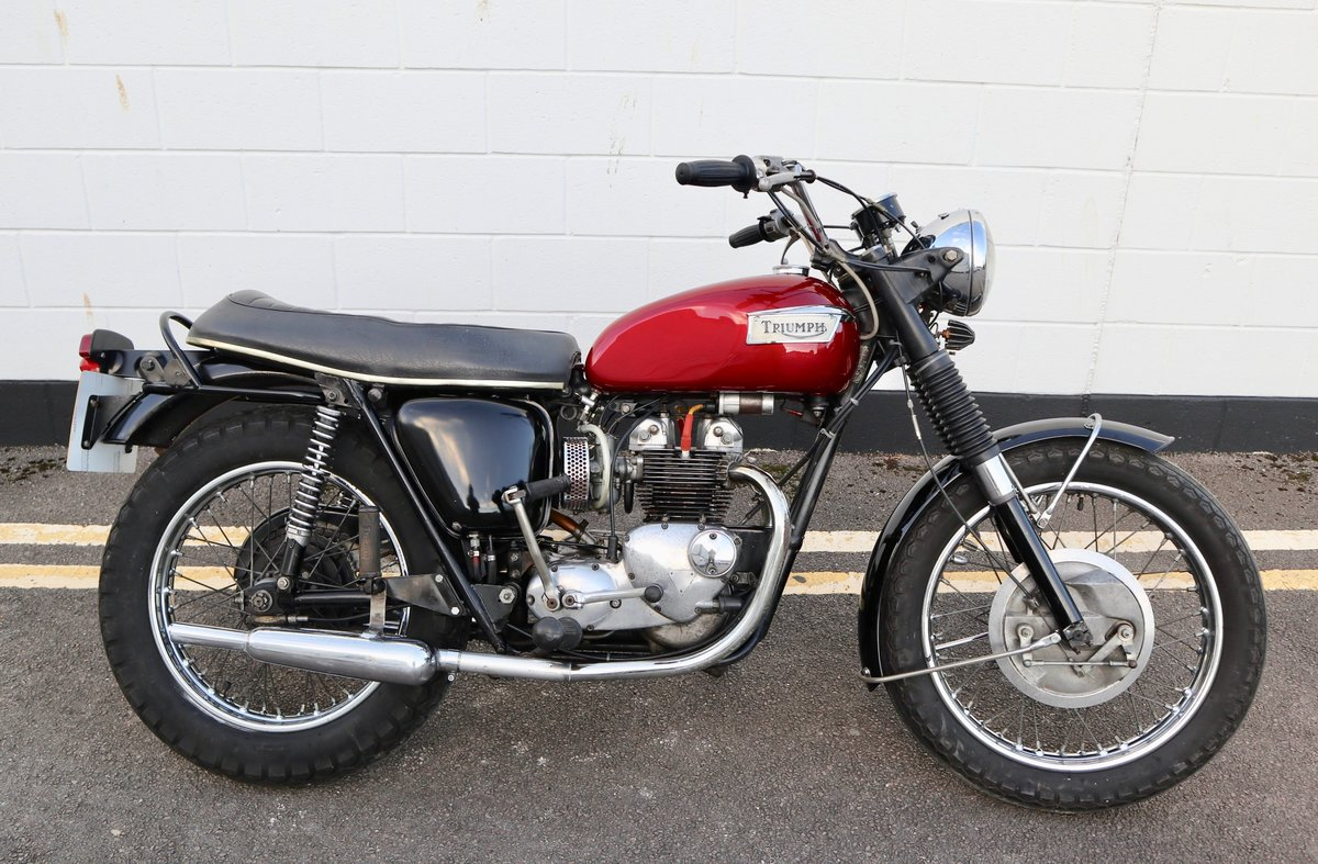 1972 Triumph T100R Daytona 500cc - Matching Numbers SOLD (picture 1 of 16)