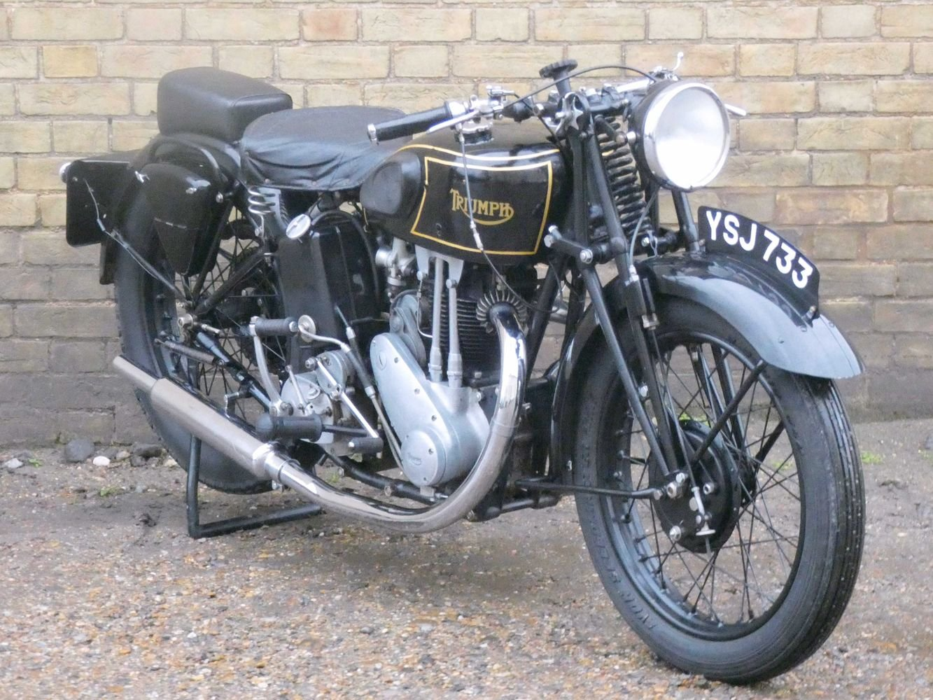 1935 Triumph Model 5/2 500cc For Sale (picture 6 of 6)