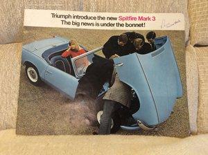 Picture of Spitfire mark 3 sales brochure For Sale