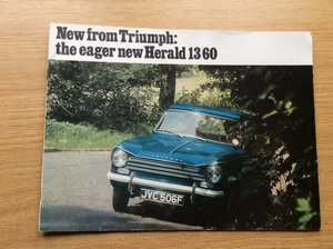 Picture of Sales brochure for Triumph Herald 13/60 For Sale