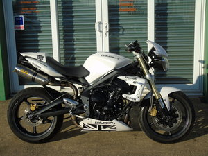 Picture of 2011 Triumph Street Triple Only 10,000 Miles From New For Sale