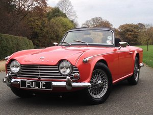Picture of 1965 TRIUMPH TR4A UK CAR. OVERDRIVE For Sale