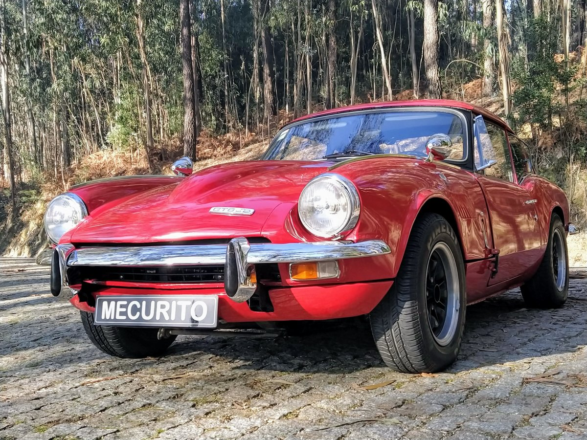 1971 Triumph GT6 MKII Overdrive For Sale (picture 1 of 12)