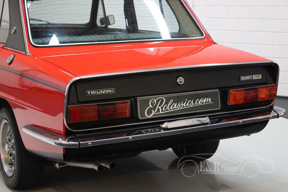Triumph Dolomite Sprint Restored 1975 For Sale (picture 8 of 12)