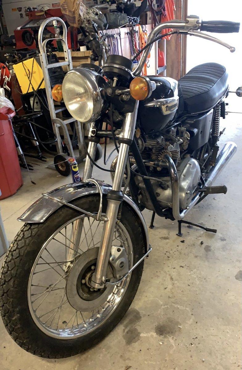 Triumph Tigerville 750cc 1973 restoration Project For Sale (picture 6 of 12)