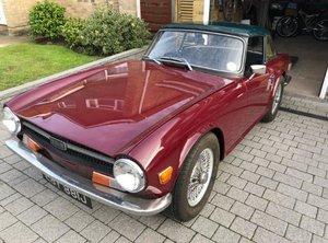 1970 TRIUMPH TR6 150 O/D WIRES & FACTORY HARDTOP - UK CAR