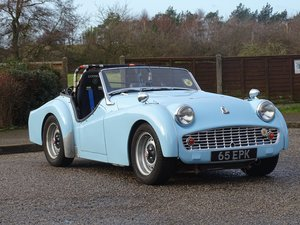Picture of 1958 Triumph TR3A For Sale by Auction