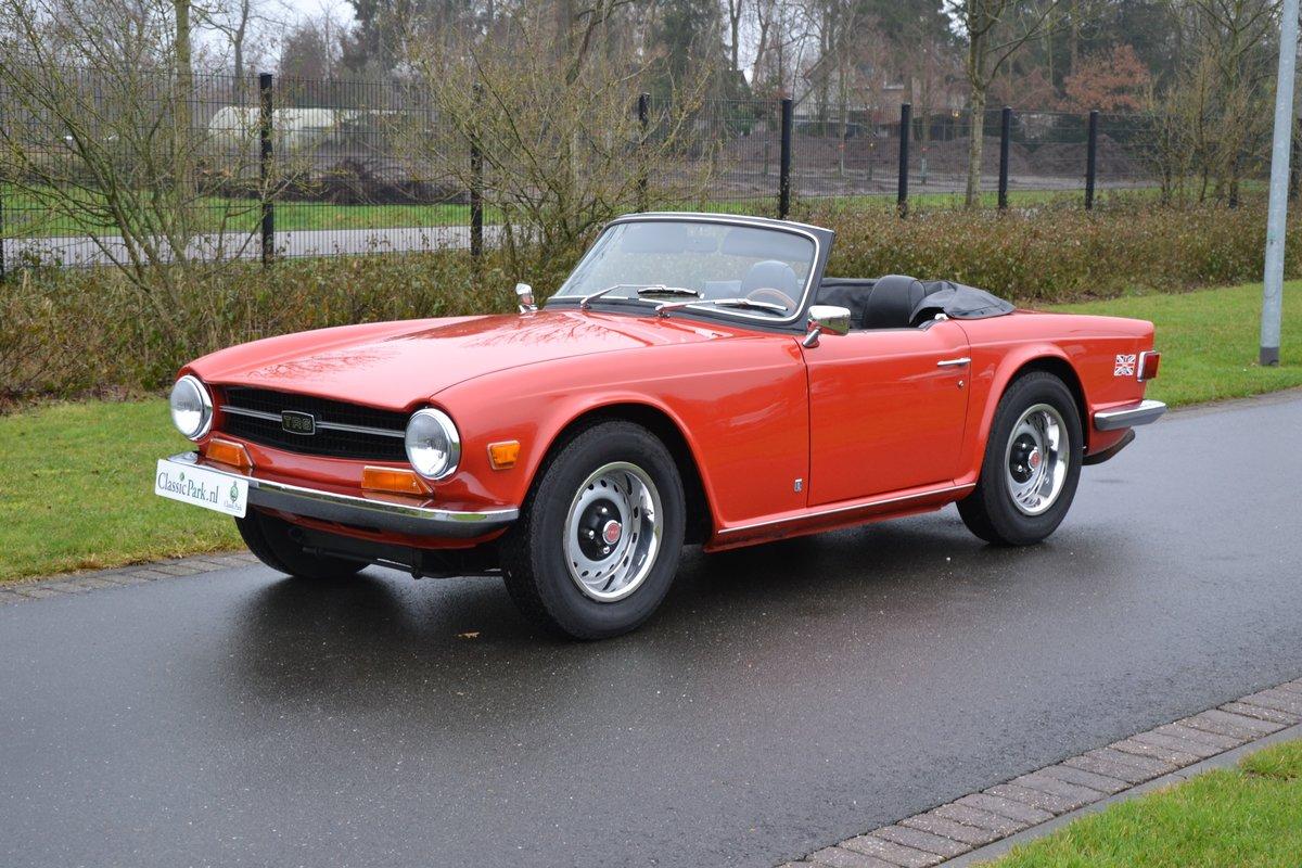 1972 (1154) Triumph TR 6 For Sale (picture 1 of 12)
