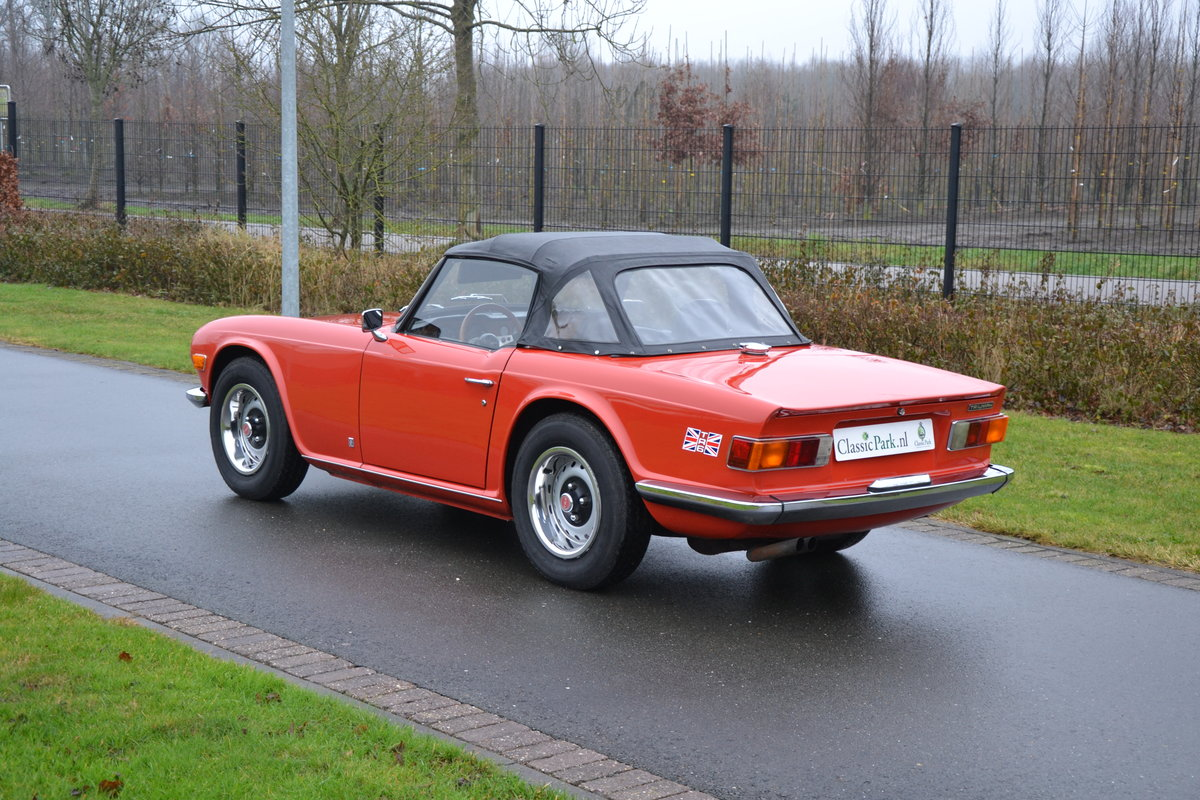 1972 (1154) Triumph TR 6 For Sale (picture 6 of 12)