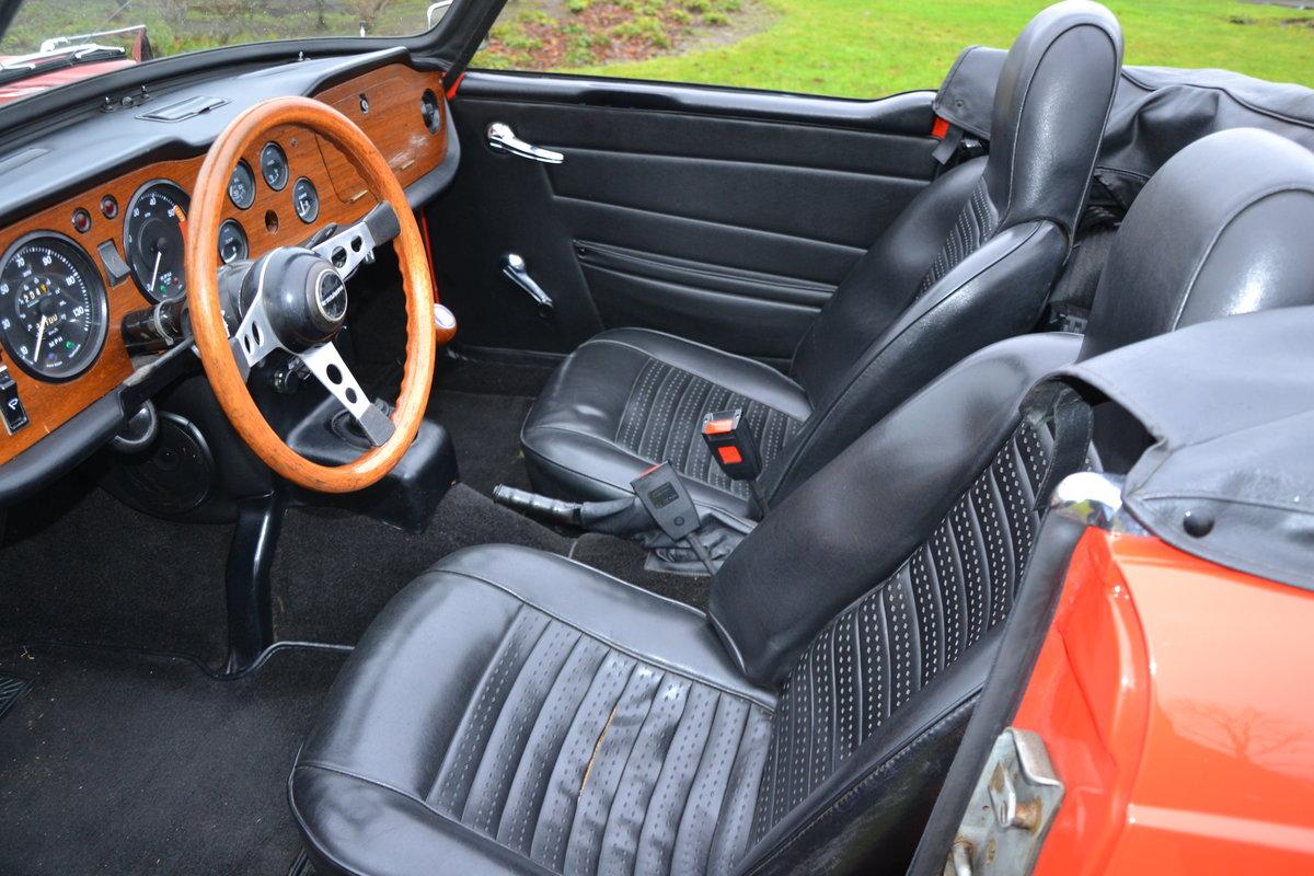 1972 (1154) Triumph TR 6 For Sale (picture 8 of 12)