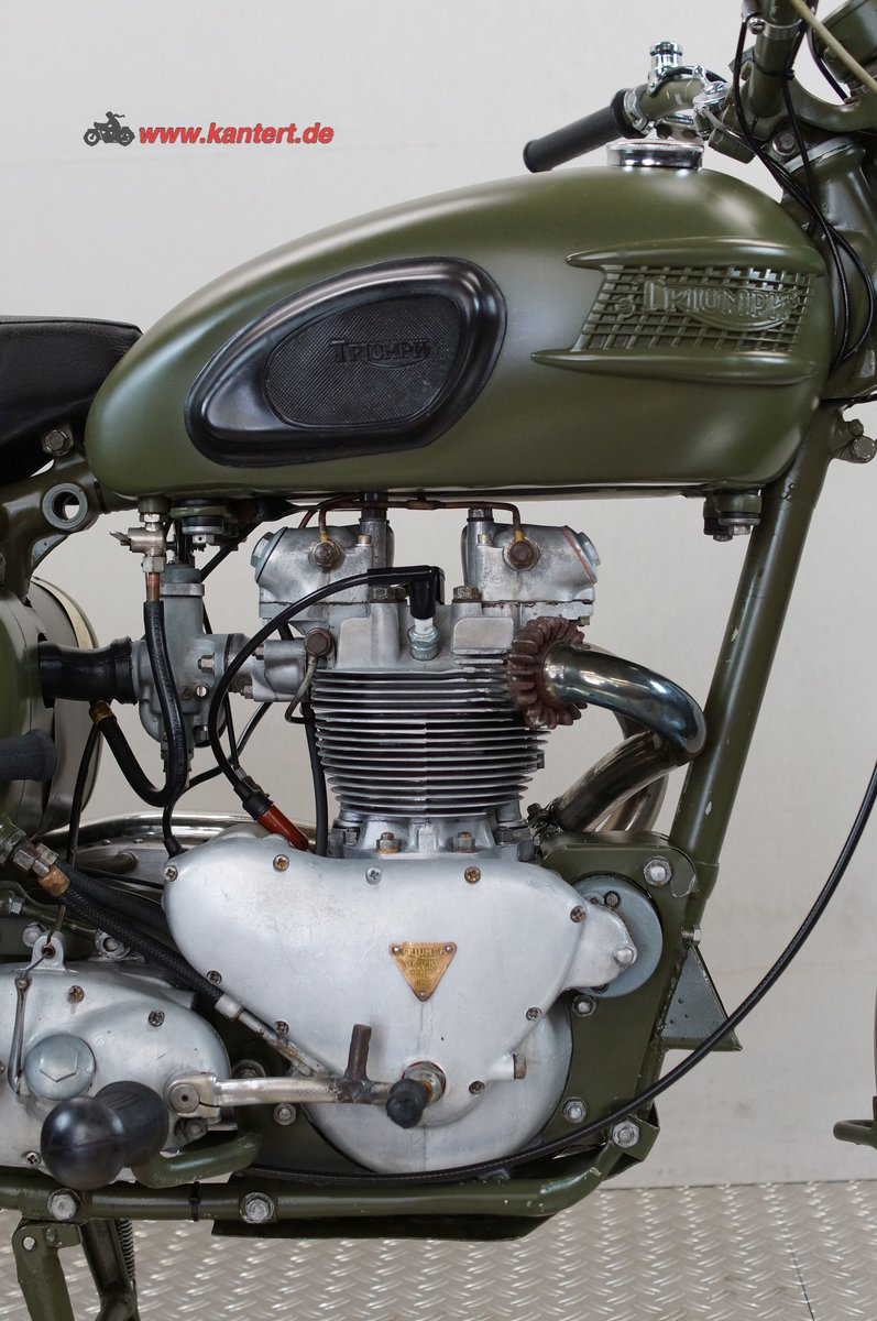 1957 Triumph TR 5, 500 cc, 25 hp For Sale (picture 8 of 12)