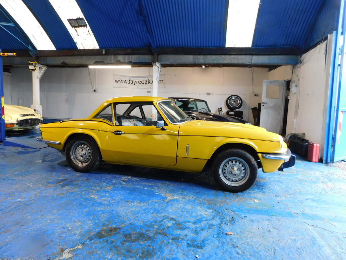 1977 TRIUMPH SPITFIRE FAMILY OWNED FROM NEW For Sale (picture 1 of 24)