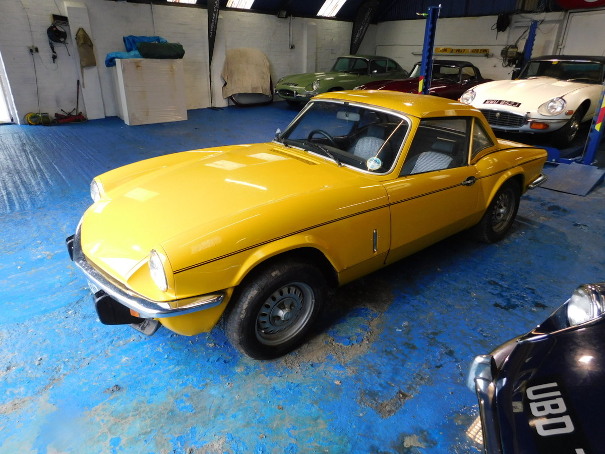 1977 TRIUMPH SPITFIRE FAMILY OWNED FROM NEW For Sale (picture 3 of 24)