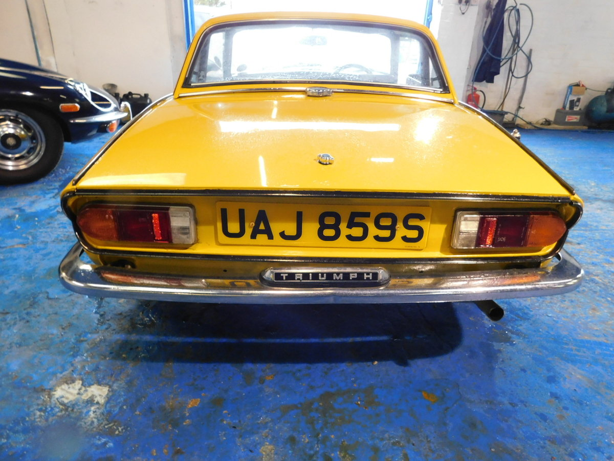 1977 TRIUMPH SPITFIRE FAMILY OWNED FROM NEW For Sale (picture 4 of 24)