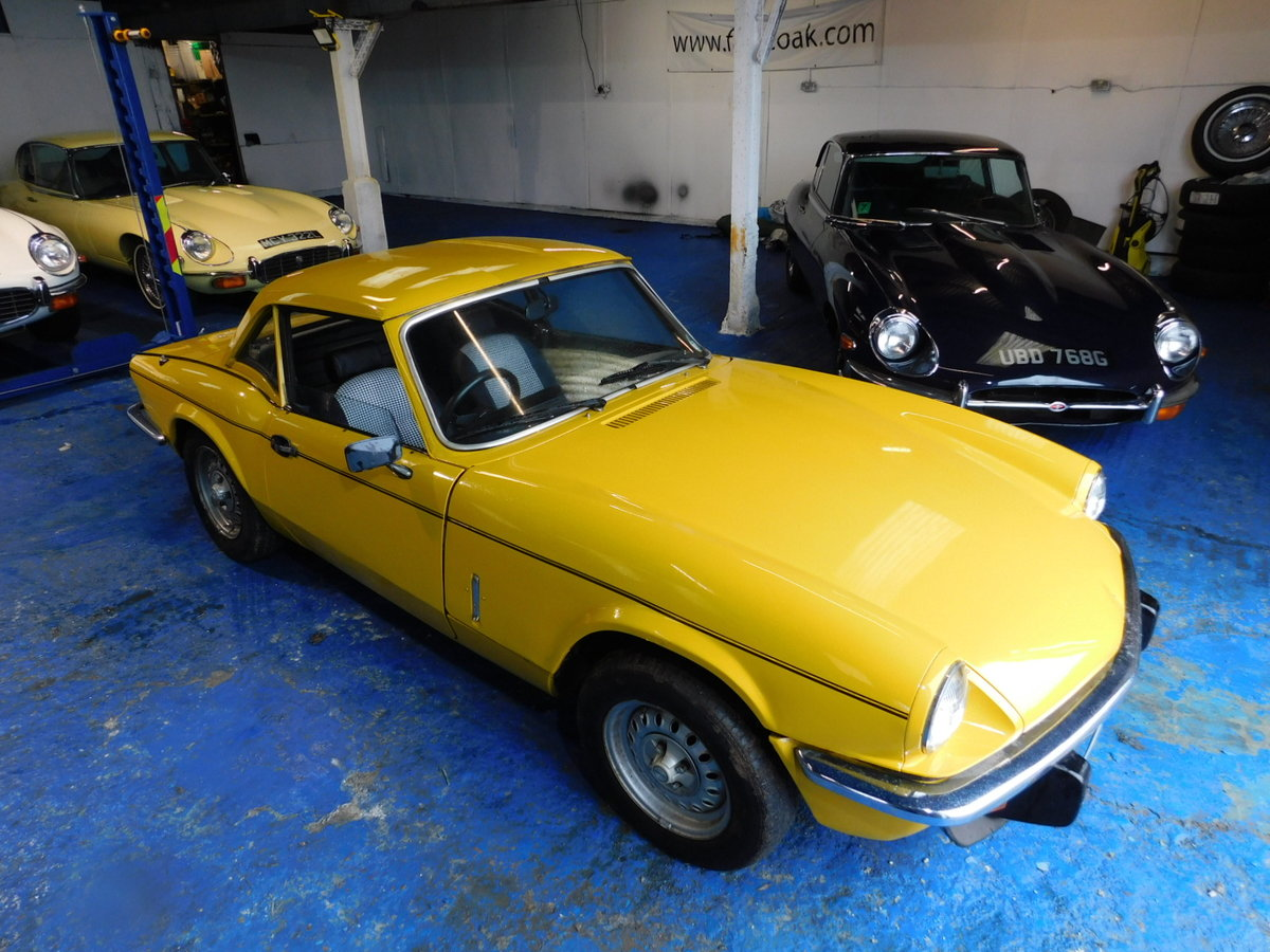 1977 TRIUMPH SPITFIRE FAMILY OWNED FROM NEW For Sale (picture 6 of 24)