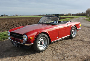 Picture of TR6 1970 ORIGINAL UK 150BHP FUEL INJECTED CAR. SOLD