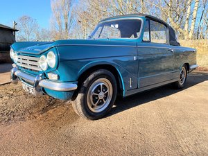 Picture of nicely restored 1969 Triumph Vitesse Mark 2 Convertible SOLD