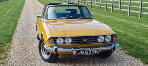 Picture of 1972 Refurbished Stag 3.0 saffron yellow For Sale