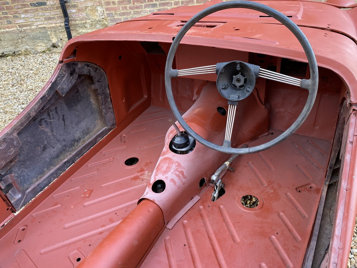 1952 Triumph TR2 Long Door. Part Restored. For Sale (picture 6 of 12)