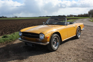 Picture of 1972 TR6 SAFFRON YELLOW. ORIGINAL UK 150 BHP CAR WITH OVERDR SOLD