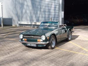 Picture of 1969 Triumph TR6 - UK RHD Rolling Project For Sale by Auction