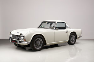 Picture of Triumph TR4 1964 LHD Surrey Top, Overdrive For Sale
