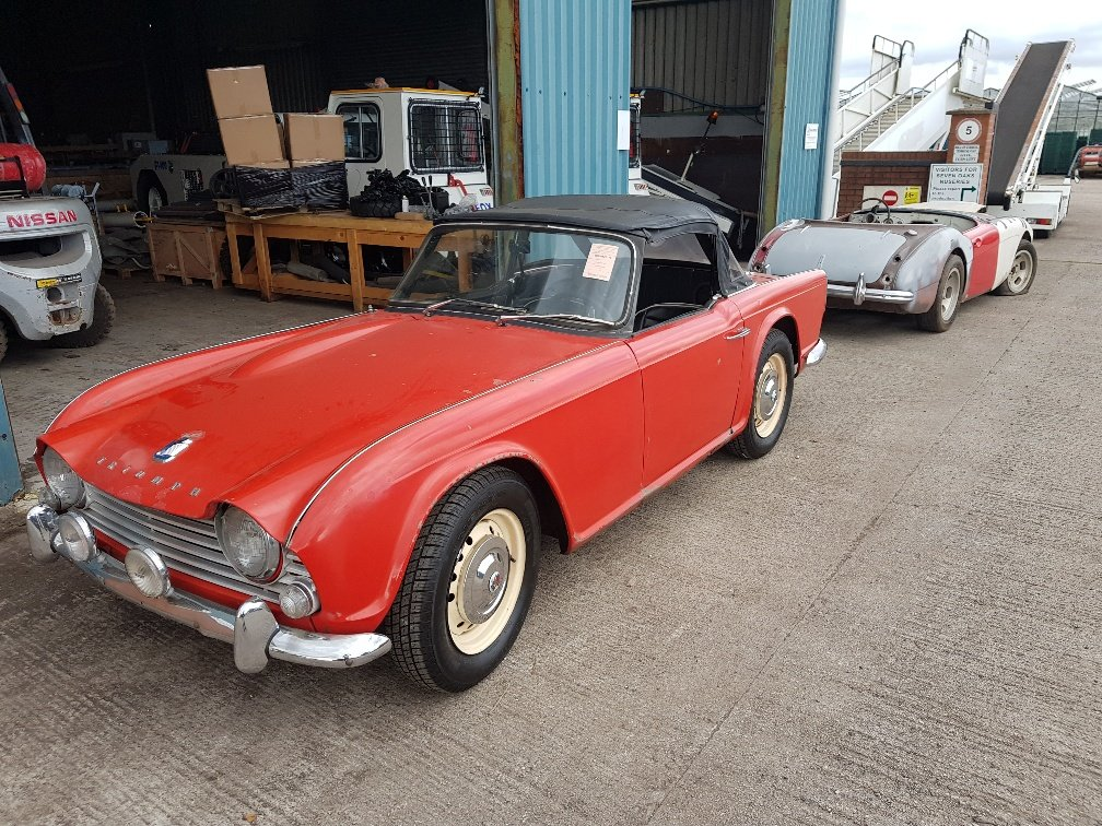 1963 Triumph TR4 LHD good condition For Sale (picture 5 of 8)